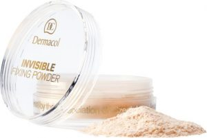 Dermacol Invisible Fixing Powder Natural Puder transparentny 13g.