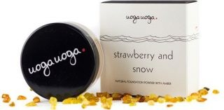 Uoga uoga Naturalny puder mineralny nr 636 Strawberry and Snow 8g.