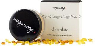 Uoga uoga Naturalny puder mineralny nr 639 Chocolate 8g.