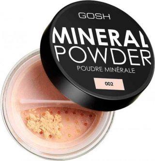 GOSH Puder mineralny do twarzy 06 Honey 8g.
