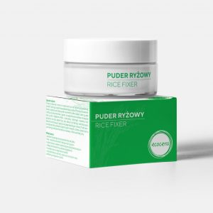 Ecocera Puder Ryżowy Fixer 15g.